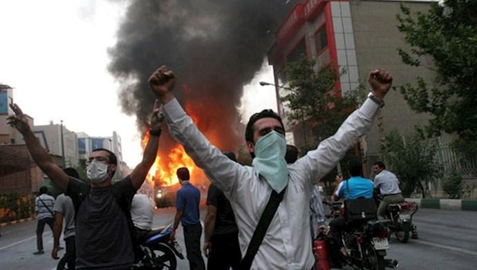 وحشت رژیم از خشم فوران جوانان ایران زمین