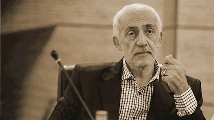 محمد دادکان رئیس سابق فدراسیون فوتبال رژیم