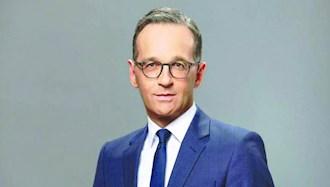 هایکو ماس وزیر امور خارجه آلمان