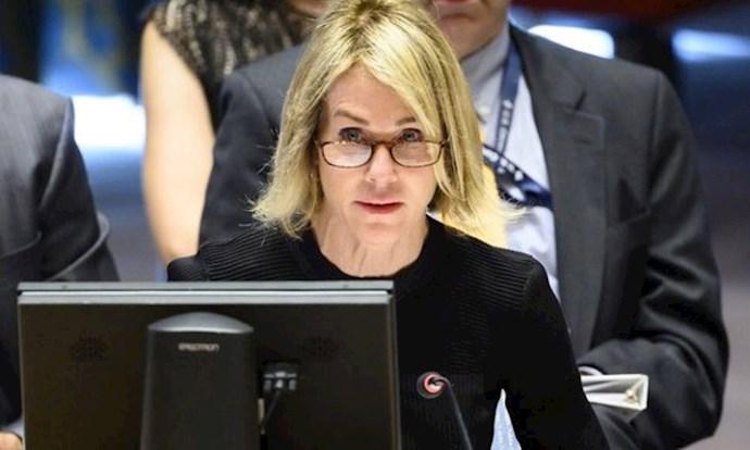 کلی کرافت نماینده آمریکا در سازمان ملل متحد