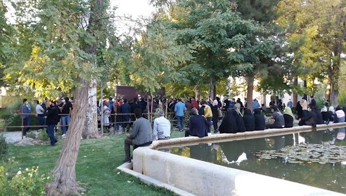 مراسم شب هفت شجریان در مشهد