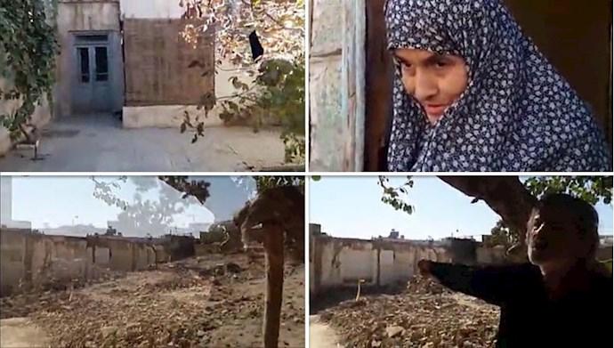 تخریب خانه یک  دختر نابینا توسط ماموران شهرداری