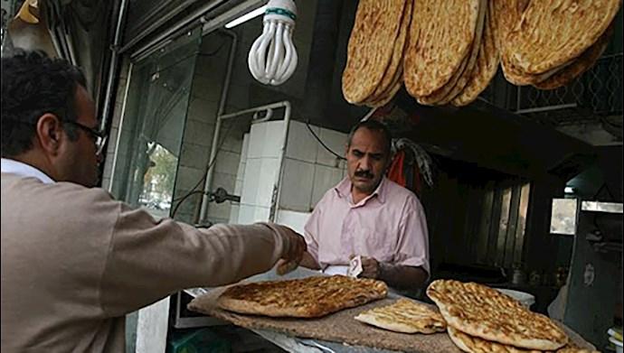 گران شدن ۵۰درصدی نان
