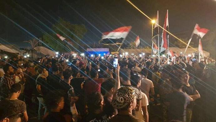 میدان تظاهرات نجف -۴آبان۹۹