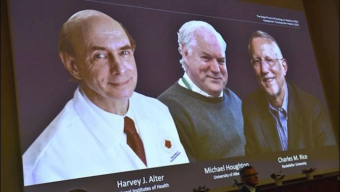 برندگان جایزه نوبل پزشکی سال ۲۰۲۰