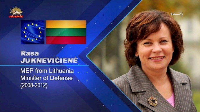 راسا پوکنه ویچپنه وزیر دفاع پیشین لیتوانی نماینده پارلمان اروپا - 0