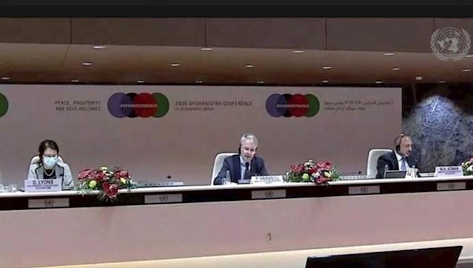 اجلاس ژنو  برای بازسازی افغانستان