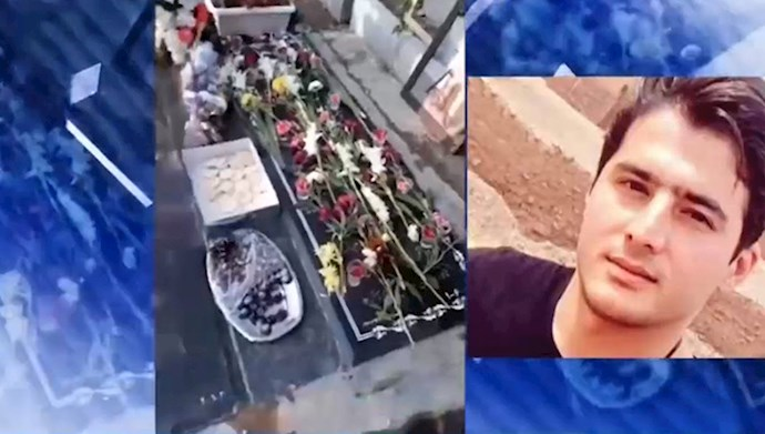 اولین سالگرد شهید قیام ۹۸ جواد باباییزاده در شهر قدس