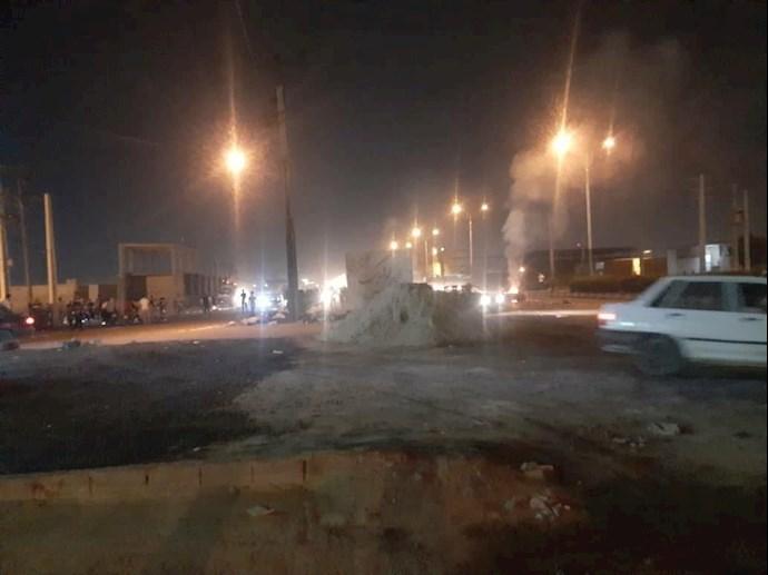درگیری جوانان اهواز با نیروهای سرکوبگر - 6