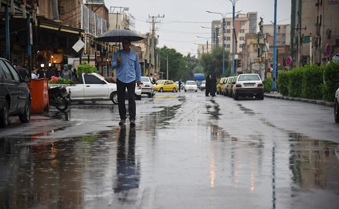 بارش باران و آبگرفتگی در اهواز - 3
