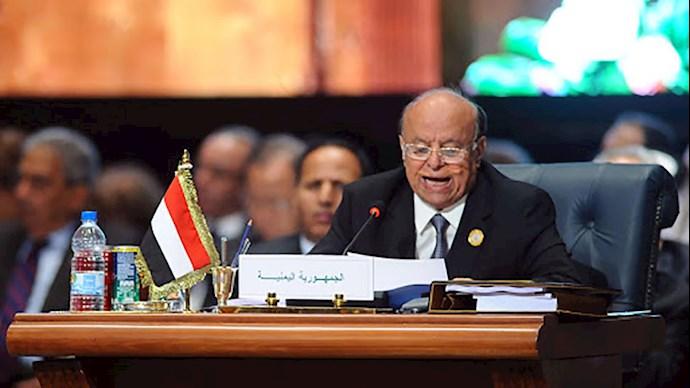 بدربه منصور هادی؛ رئیسجمهور یمن