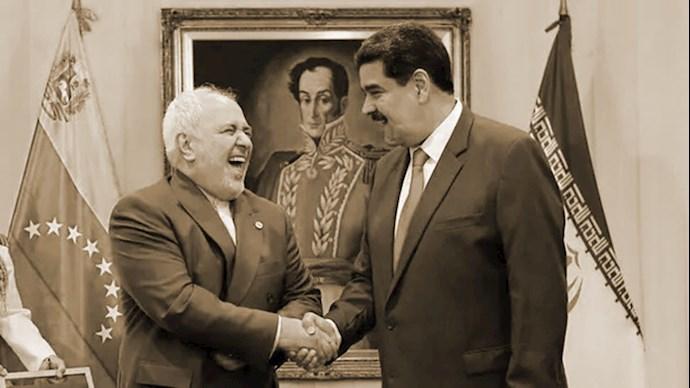 مادورو دیکتاتور ونزوئلا - ظریف مالهکش نظام