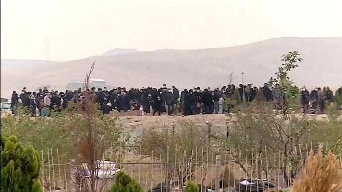 قبرستان جدید در تبریز