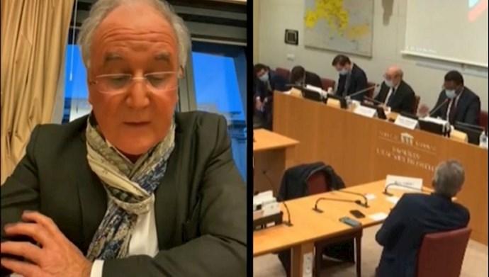 سؤال پارلمانی در مجلس ملی فرانسه از وزیر خارجه