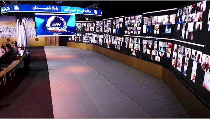 تصاویری از مراسم سالگرد قیام کبیر آبان در اشرف۳ با یاد شهیدان - 3