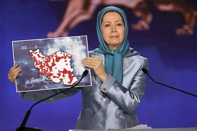 -مریم رجوی رئیسجمهور مقاومت ایران