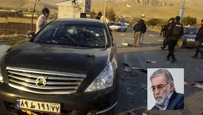 محل کشته شدن محسن فخری زاده نفر اول اتمی  و بمبسازی رژیم