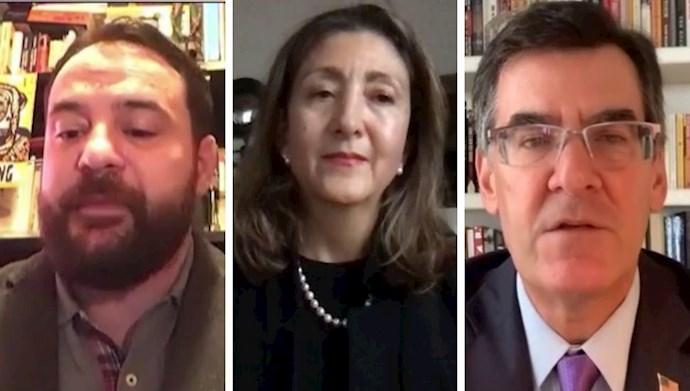 سخنرانیهای میچل ریس، اینگرید بتانکور و روبرتو رامپی در سالگرد قیام کبیر آبان در اشرف۳