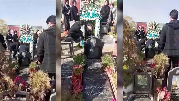 تجلیل از شهدای قیام آبان ۹۸ در زینبیه اصفهان
