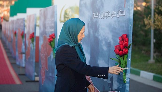 مراسم سالگرد قیام کبیر آبان در اشرف۳ با یاد شهیدان - 8