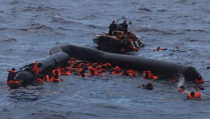غرق شدن پناهجویان
