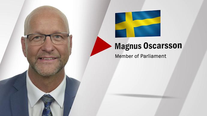 مگنوس اسکارشون نماینده پارلمان سوئد - 0