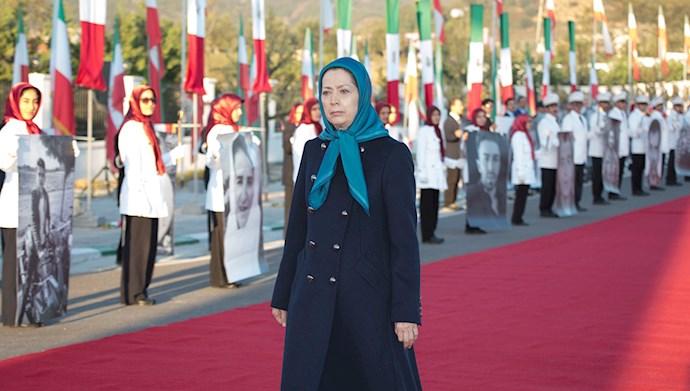 مراسم سالگرد قیام کبیر آبان در اشرف۳ با یاد شهیدان - 10