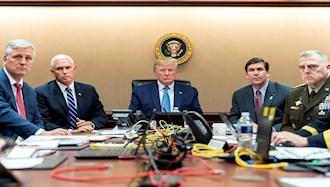 ترامپ و تیم مشاورانش - آرشیو
