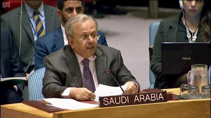 عبدالله المعلمی سفیر عربستان در شورای امنیت