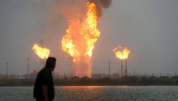 انفجار خط لوله گاز در جنوب عراق