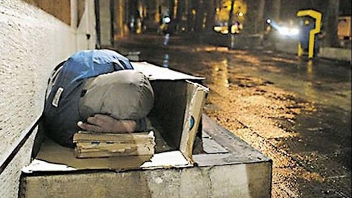 افزایش کارتن خوابی در تهران