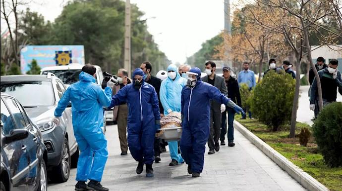 فاجع کرونا در ایران