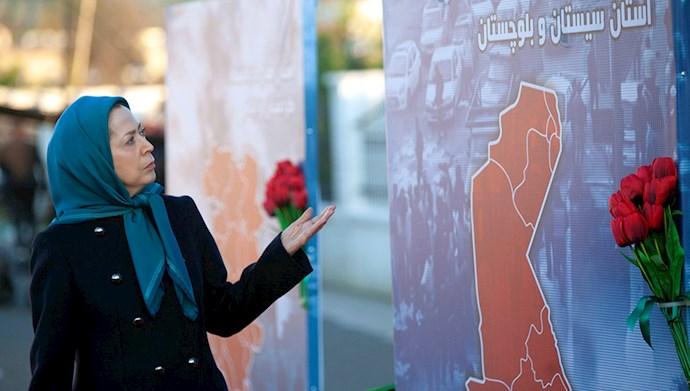 مراسم سالگرد قیام کبیر آبان در اشرف۳ با یاد شهیدان - 6
