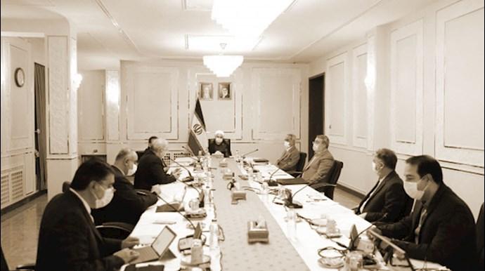 جلسه ستادآخوند روحانی در مورد کرونا