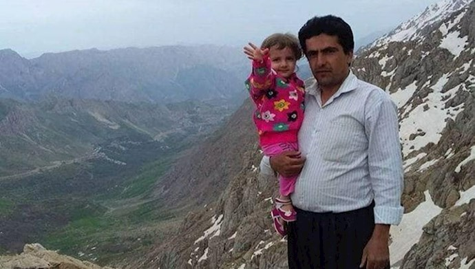 سعدی رستمزادە که با شلیک ماموران رژیم ایران ایران بە قتل رساندند