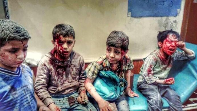 جنایات اسد در سوریه