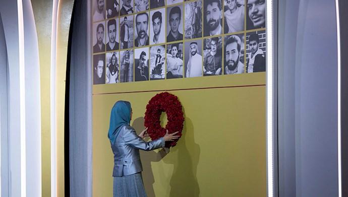 تصاویری از مراسم سالگرد قیام کبیر آبان در اشرف۳ با یاد شهیدان - 2