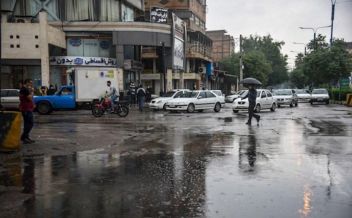 بارش باران و آبگرفتگی در اهواز - 4