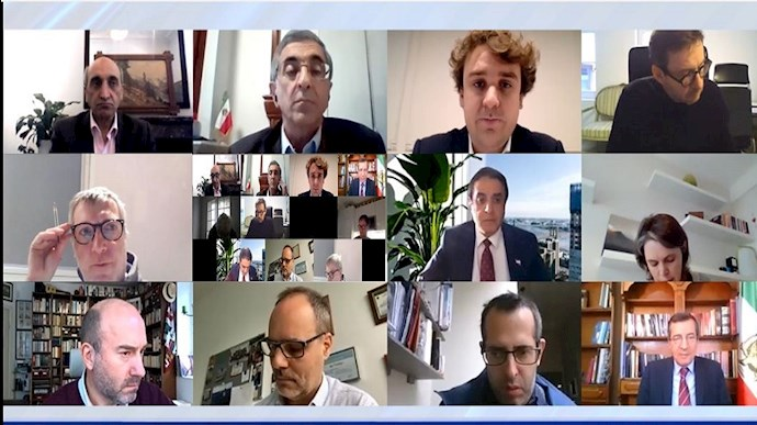بریفینگ مطبوعاتی آن لاین وکلای مقاومت ایران در مورد محاکمه اسدلله اسدی