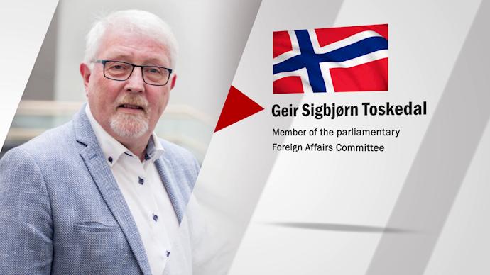 گیر توسکدال – عضو کمیتهٔ خارجی و دفاع پارلمان نروژ - 0