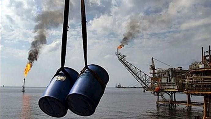 افت شدید درآمد نفتی رژیم