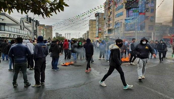 گرانی و وحشت از تکرار قیام آبان