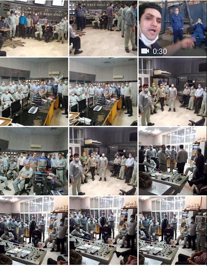 -اعتصاب کارکنان نیروگاه رامین اهواز