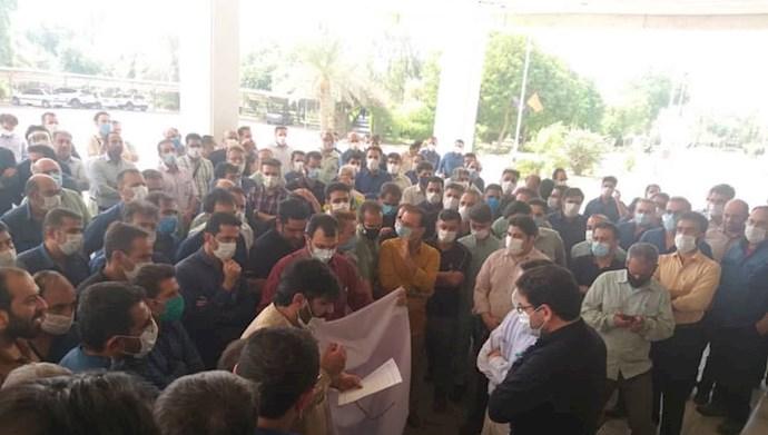 اعتصاب کارکنان نیروگاه رامین اهواز