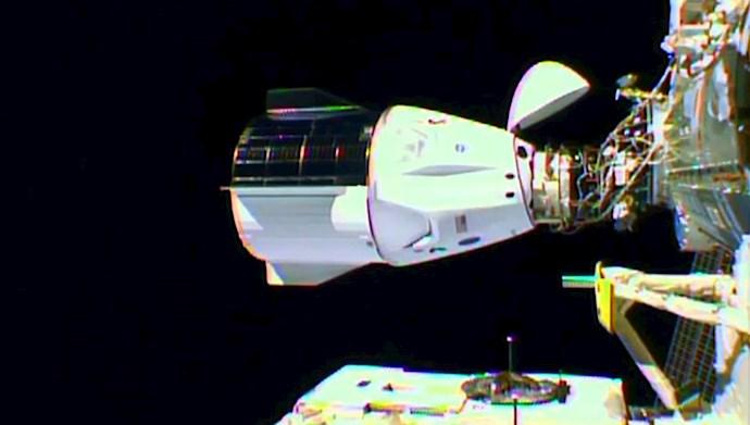 کپسول کرو دراگن به ایستگاه فضایی بینالمللی ملحق شد