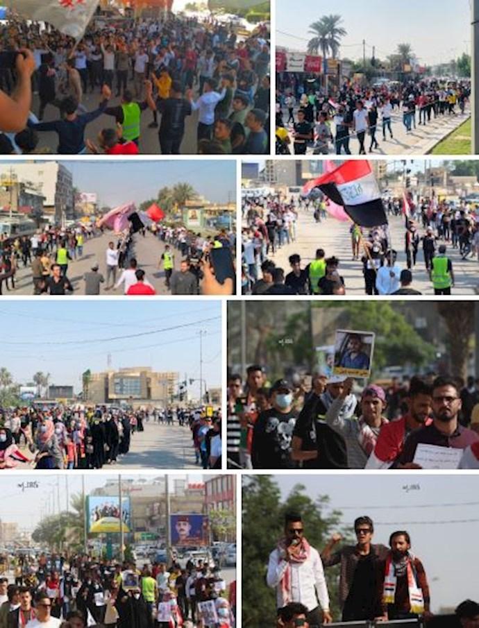 -تظاهرات دانشجویان در بابل