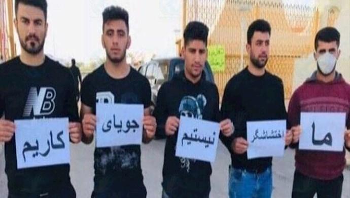 تجمع اعتراضی جوانان جویای کار در بهبهان