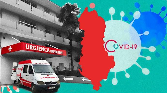 کرونا و گسترش آنفلوانزا و تبهای شدید در سراسر آلبانی