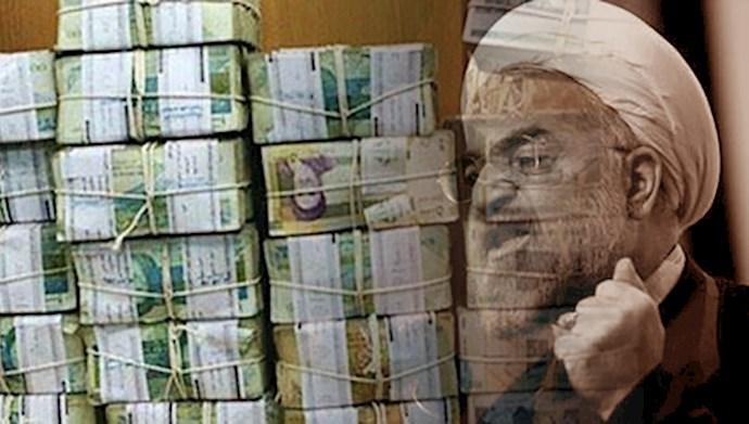 بدهی دولت ورشکسته آخوند روحانی به نظام بانکی