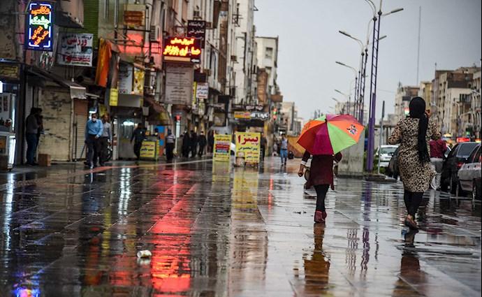 بارش باران و آبگرفتگی در اهواز - 6